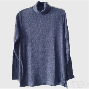 Confortable Long Sleeve Turtle Neck Shirt